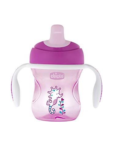 Ideal para entrenar al niño para empezar a tomar de un vaso.