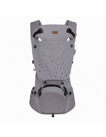PORTABEBÉS HIP SEAT ERGONÓMICO WEEKEND CONSTELLATION GRIS